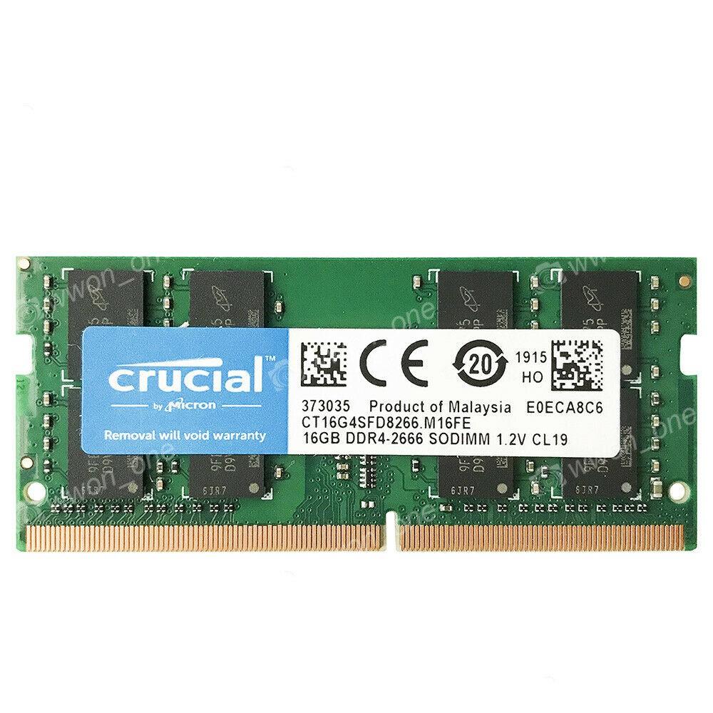 8GB 16GB 32GB 1RX8 PC4-21300S PC4-2666V DDR4-2666 MHz 260pin SO-DIMM Memory RAM