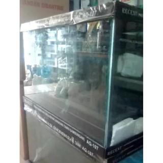 Produk Terbaru Aquarium Ikan Hias Bending Recent Aq 107 Uk 70 Cm Uk 119 Liter Import