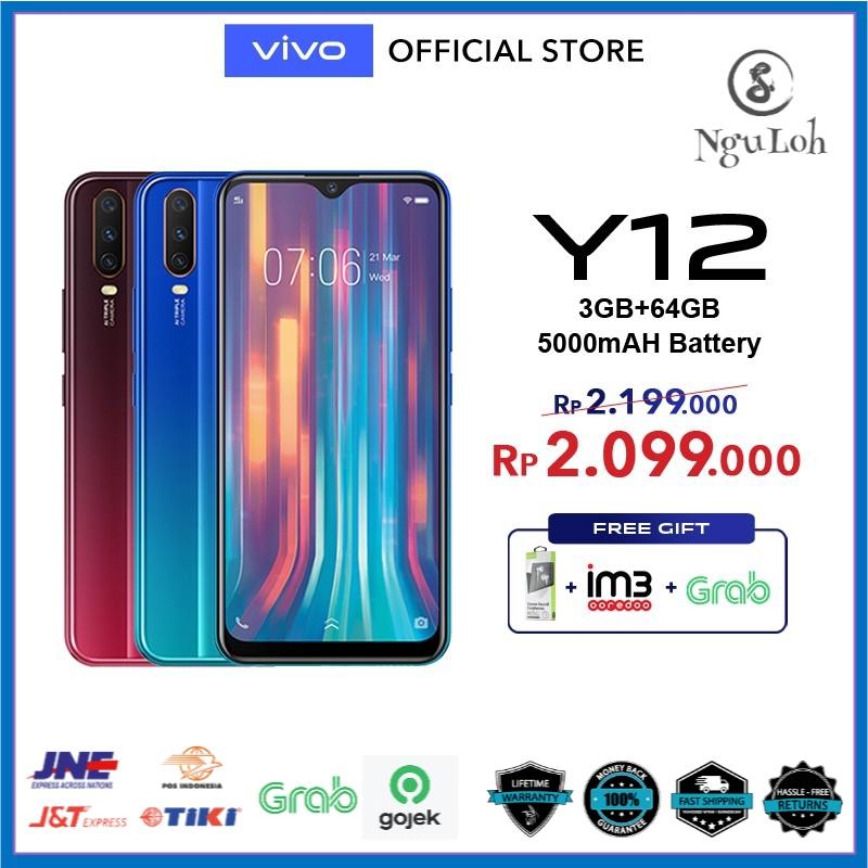 vivo Y12 3GB 64GB - Garansi Resmi vivo Indonesia