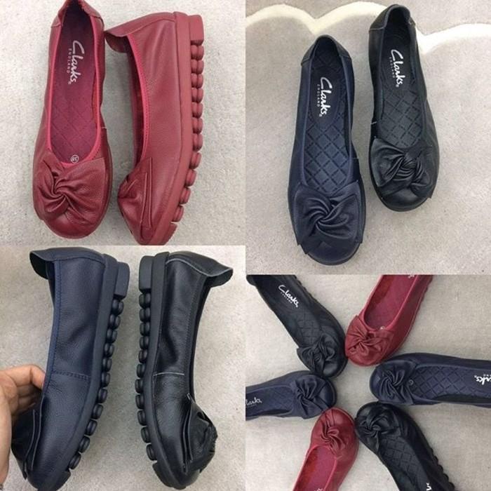 sepatu clarks - Temukan Harga dan Penawaran Sepatu Flat Online Terbaik - Sepatu  Wanita Januari 2019  47e308b522