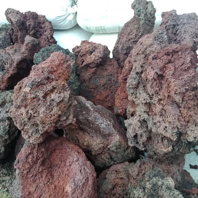 Batu lava rock aquarium/aquascape | Shopee Indonesia