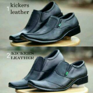 Sepatu kulit pria sepatu kerja pria sepatu kickers pria sepatu sepatu  pantofel pria 540d6f1566