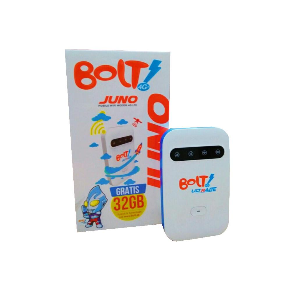 Mifi Modem Wifi 4g Bolt Juno Gratis 32gb Garansi Resmi 1 Tahun Unlock Bisa Semua Kartu Gsm Dan Smartfren Kondisi Aktif Shopee Indonesia