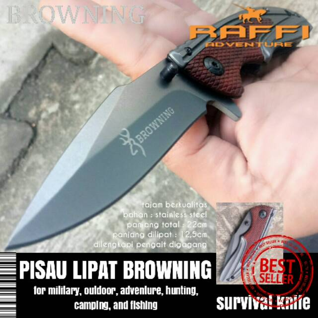 4in1 Boker Pisau Lipat Outdoor Camping Hiking Tactical Survival Knife | Shopee Indonesia