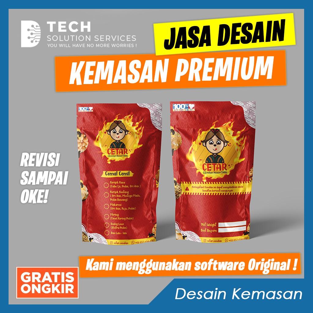 Jasa Desain Kemasan Produk Design Packaging Makanan label, box, standing pouch [CEPAT, BERKUALITAS]
