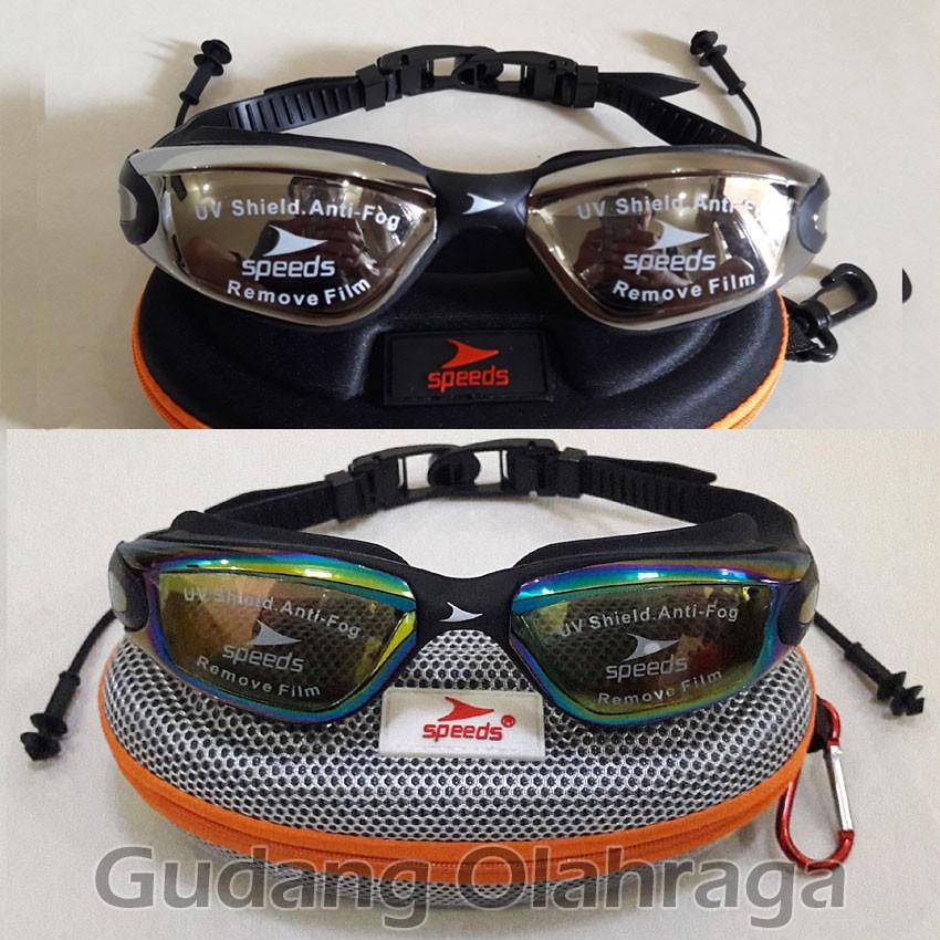Kacamata Renang SPEEDS LX3000 / LX3100 Anti Fog & UV