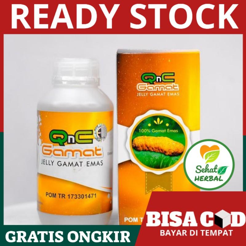 QnC Jelly Gamat Emas Manfaat Dan Efek Samping - Vitamin ...