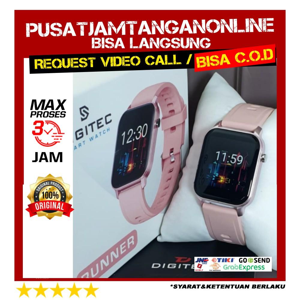 Jam Digitec RUNNER Pink - Jam Tangan RUNNER - DIGITEC SMARTWATCH