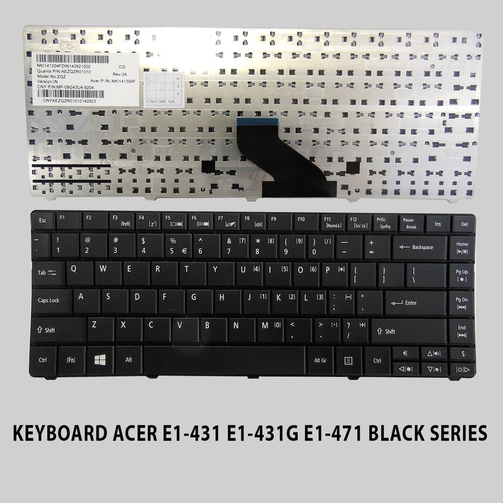 Keyboard Mini Acer Kecil Usb Kabel Shopee Indonesia Laptop One Z1401 14 Z1402 Series Hitam