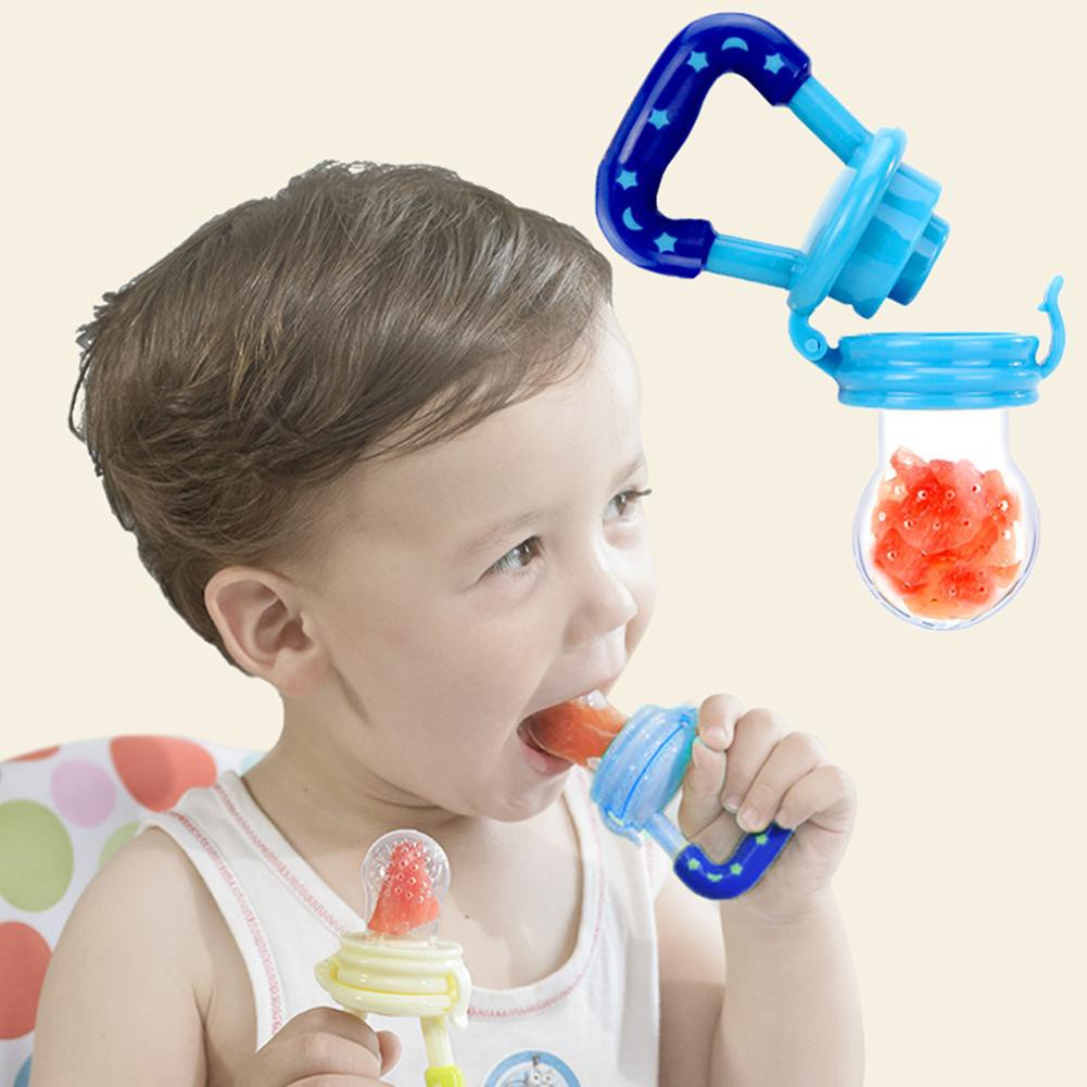 Silicone Filter Chew Pacifier Fruit /&Vegetable Bags Baby Feeding Tool Nipple