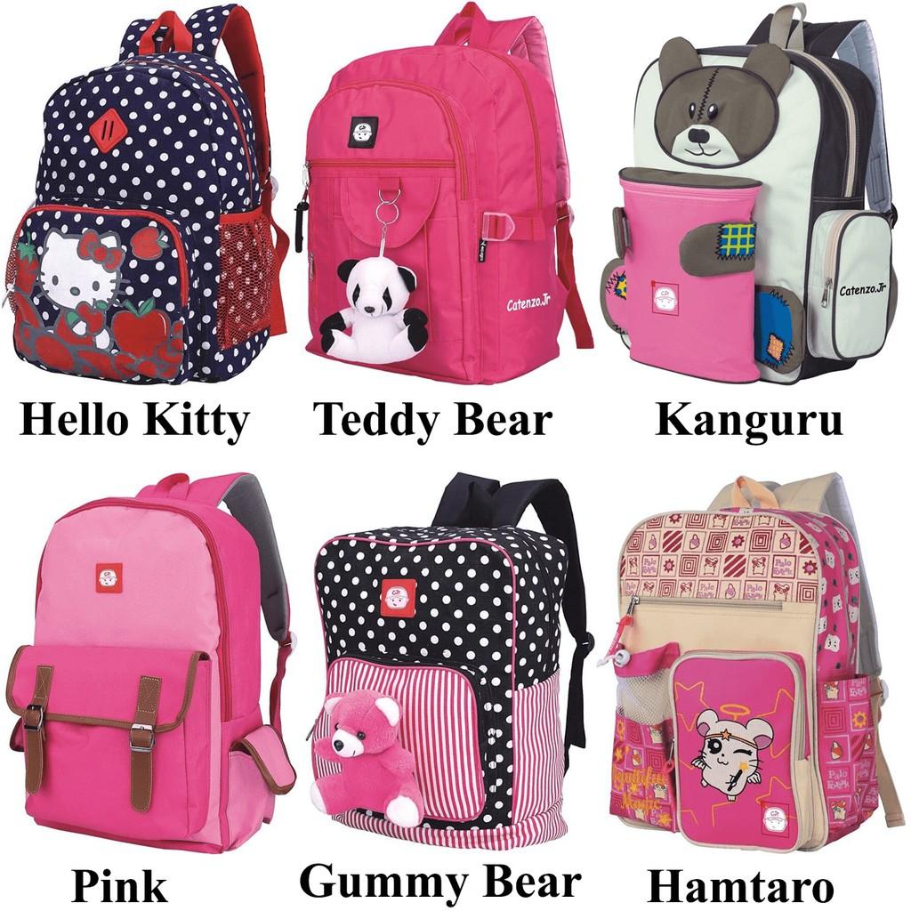 Tas Anak Sekolah Perempuan   Backpack Sekolah Perempuan   Tas Ransel Lucu  Imut  16c50258eb