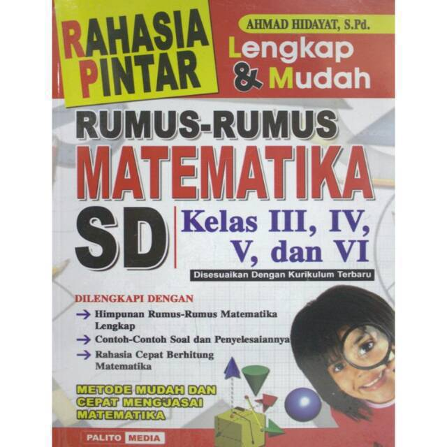 Rumus Kamus Matematika Lengkap Sd Smp Sma Shopee Indonesia