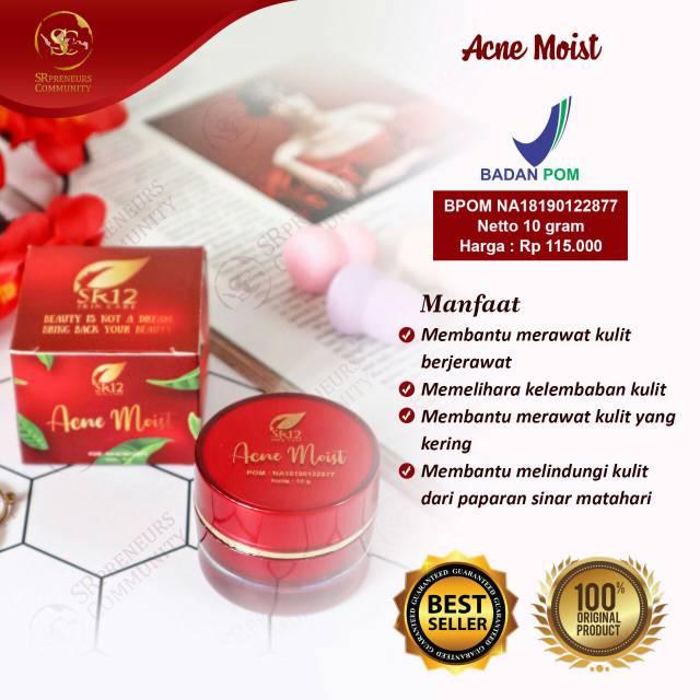 Best Seller Acne Day Cream Cream Jerawat Ampuh Acne Moist Cream
