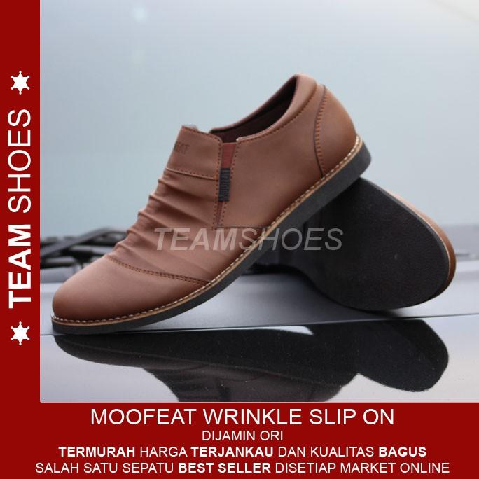 Sepatu Slip On Pria l Master Shoes Zapata Infinity  f56aecd036