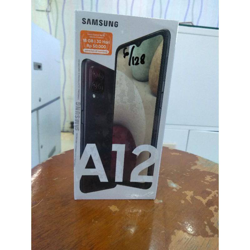 Hp Samsung A12 Ram 6/128gb