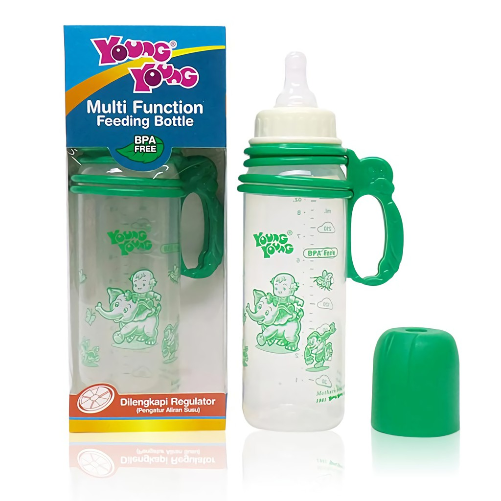 Handle Gagang Botol Susu Shopee Indonesia Reliable Karakter Bear 240ml