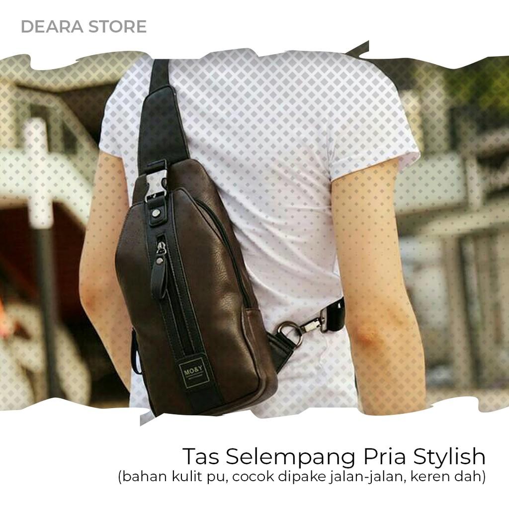 Sling Bag Stylist Pria Tas Slempang Kulit Import Premium Quality Selempang Kamera Wanita Shopee Indonesia