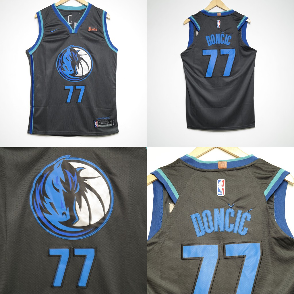 hot sale online 6d6e0 521e9 JERSEY NBA DALLAS MAVERICKS #77 LUKA DONCIC CITY EDITION 2018 ABU TUA