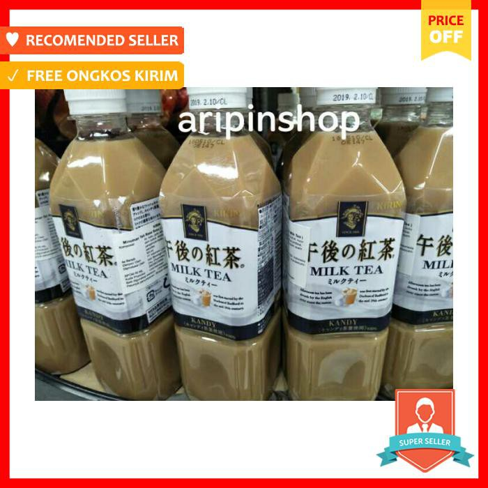 Kirin Gogo no Kocha [Afternoon Tea] : Kandy Milk Tea 500 ml [Kemasan Baru] | Shopee Indonesia