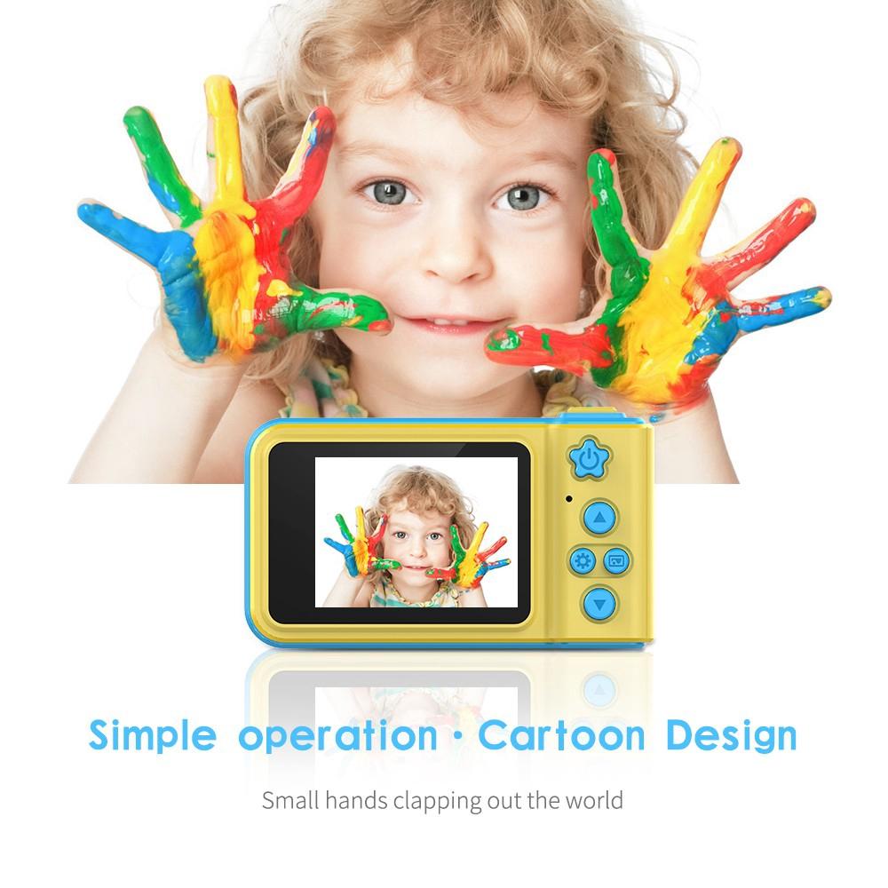 Kamera Digital Hd Anti Goyang Ukuran 2 Inci Untuk Hadiah Anak