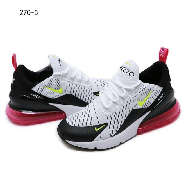 Sepatu NIKE AIRMAX270 THUNDER WHITE WOMAN SNEAKERS #270 5WBT2
