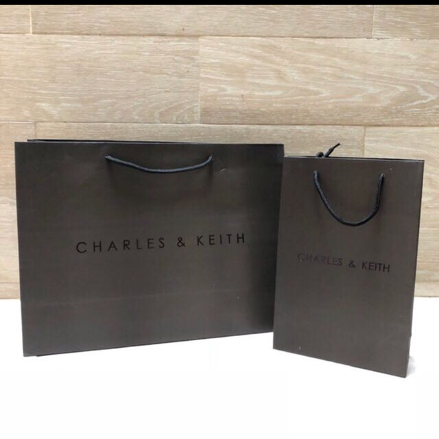 Charles   Keith Paperbag Dustbag Branded Paper bag Dust bag  d5a726e8fe