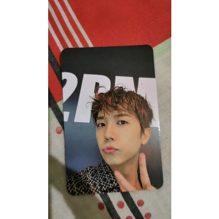 2pm must photocard wooyoung