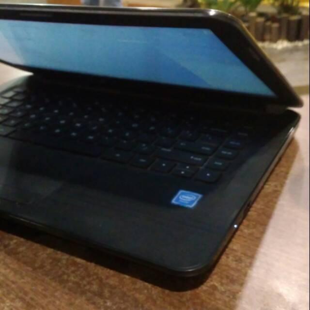 Laptop HP hitam #laptop #baru #laptopmurah