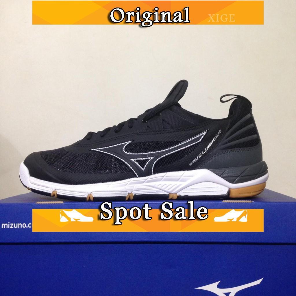 Sepatu Sneakers Bertali Desain MIZUNO Ombak China Warna Merah untuk Pria    Wanita  8673f1ca81
