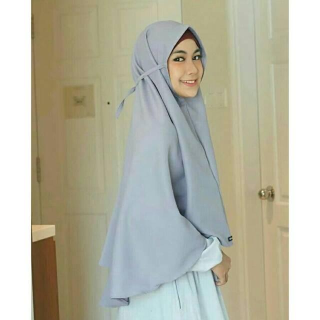 Bergo Diamond Jumbo Hijab Bergo Nisma Jumbo Shopee Indonesia