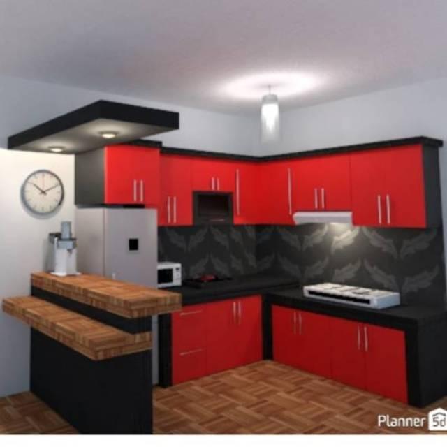 Kitchen Set Minimalis Modern 5jtaan Design Interior Rumah Dekorasi