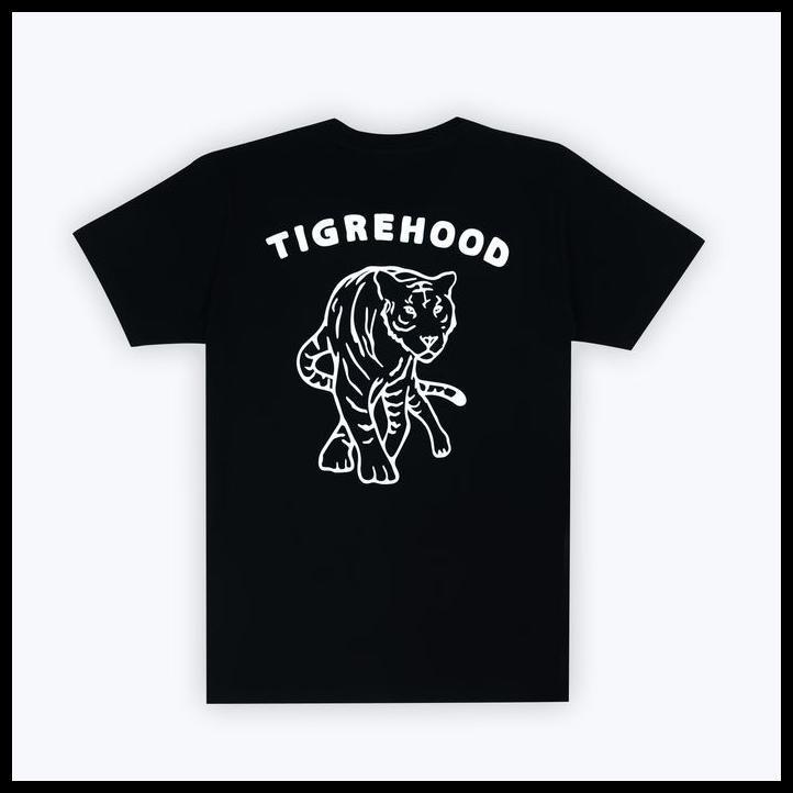 Best Seller Tigrehood Logo Black T Shirt M Shopee Indonesia