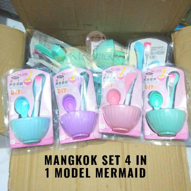[Bayar Di Tempat] 9Pcs / Set Mangkok Masker DIY Ukuran Medium | Shopee Indonesia
