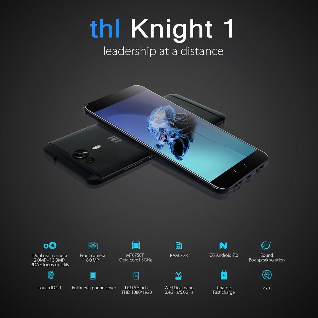 [Bayar Di Tempat]?MURAH?THL-knight1 3GB+32GB 5 5inch HD Octa-core 1 5 GHz  Dual Camera UK Plug