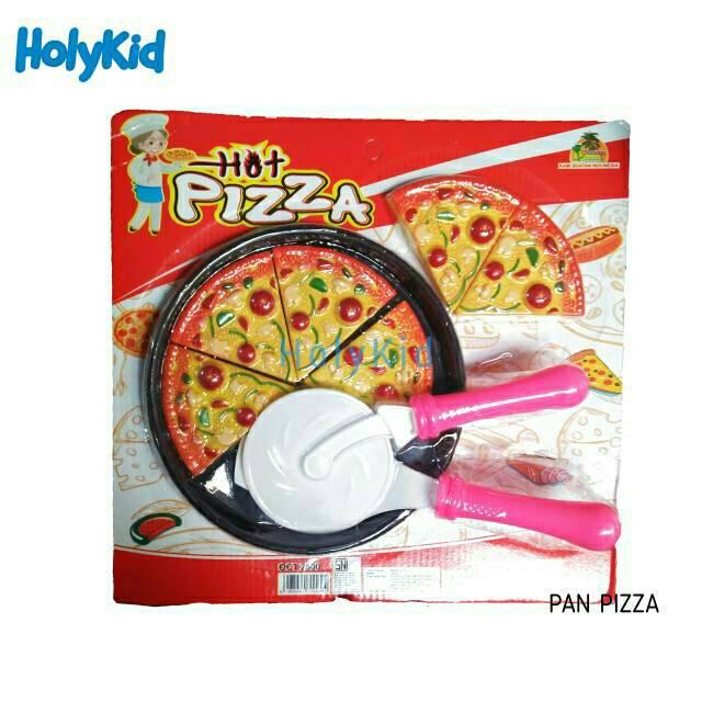 Mainan Anak Hot Piza Pizza Potong Makanan Pizza Hot Mainan Pizza Lengkap Dengan Pemotong Shopee Indonesia