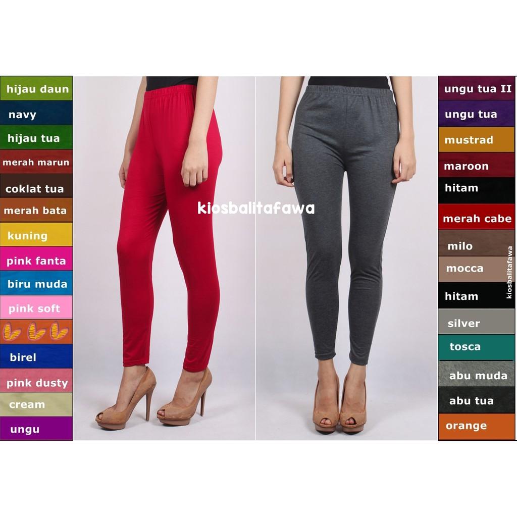 Legging Polos Size Remaja Tanggung 12 17 Tahun Fit To M Leging Kaos Celana Wanita Panjang Dalaman Shopee Indonesia