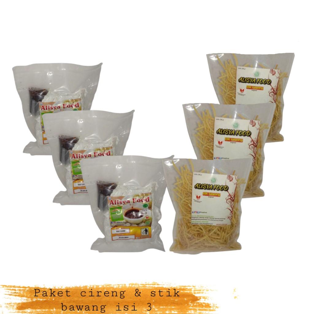 Alisya Food Cireng bumbu rujak isi 11 Stik Bawang Paket 3