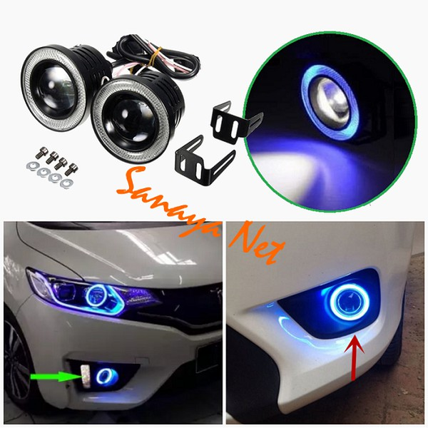 Ysy 1 Pair Car Angel Eyes Led Car Halo Ring Lights Led Angel Eyes Headlight For Car Auto Moto Moped Scooter Motorcycle 90 95mm Car Light Accessories Aliexpress