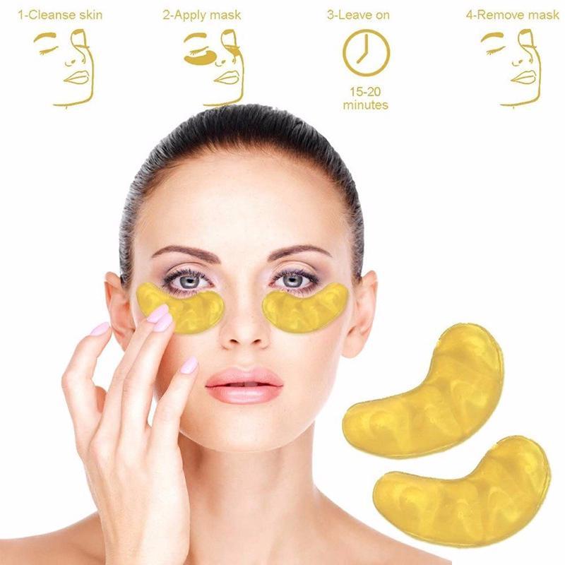 COD Eye Masker Mata Kolagen Pelembab Emas 24K Luye Gaya Korea Untuk Anti Aging Lingkaran Hitam EM001 thumbnail