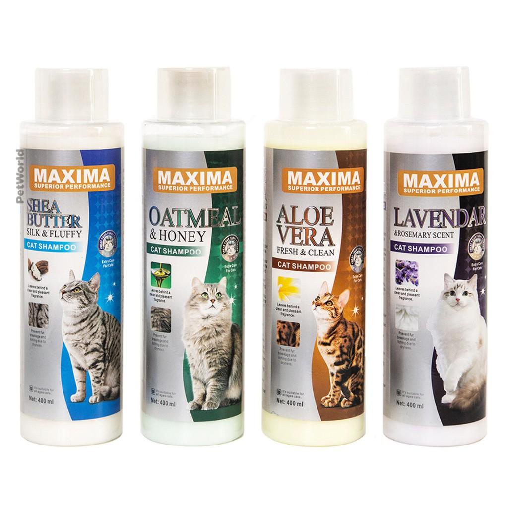 Maxima Cat Dry Skin Shampoo - Pet Moisturizing Shampo Kucing Hewan
