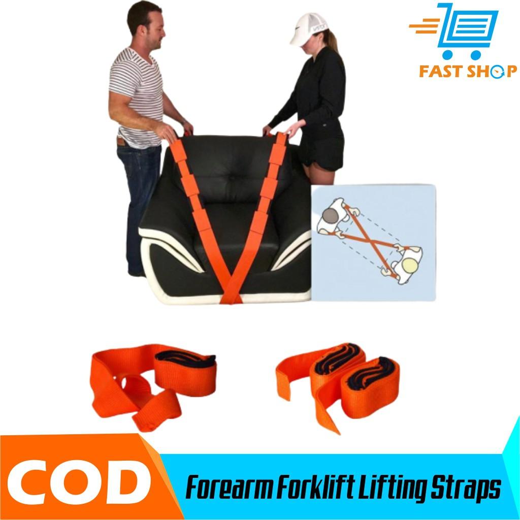 Forearm Forklift Lifting Straps Tali Angkat Furnitur 2pcs Shopee Indonesia