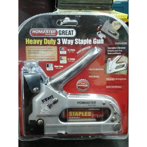 Lippro Refill Stapler Gun Staples 5000 Pcs 8 Mm ... - Bola Bundar dengan. Source · Staples tembak staple gun .