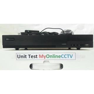 DVR CCTV 4 Kyomitsu H1 = Hikvision DS7204-HQHI F1 AHD HDTVI IP