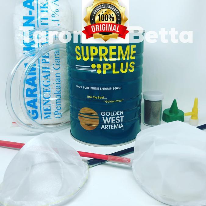 Promo Paket Kultur Artemia Terlengkap Supreme Plus 10 Gram Tanpa Aerator Shopee Indonesia