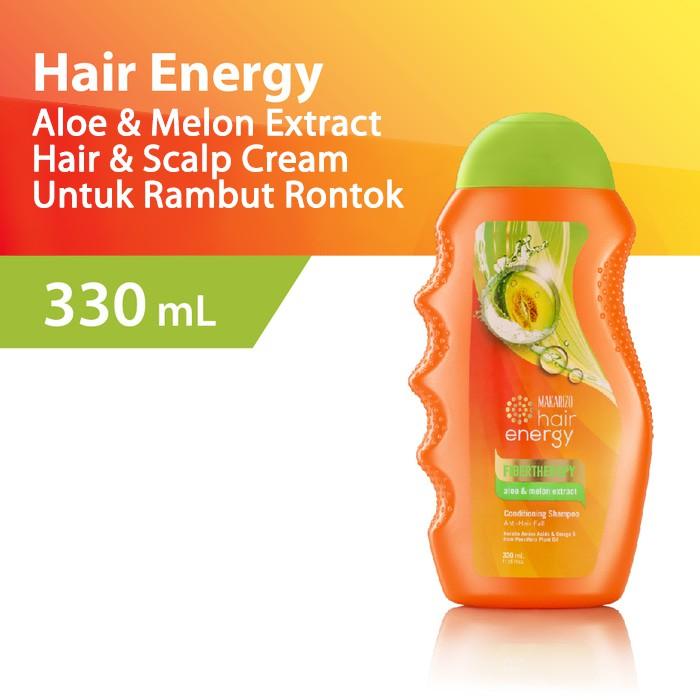 Sampo MAKARIZO HAIR ENERGY FIBERTHERAPY CONDITIONING SHAMPOO 170ml | Shopee Indonesia
