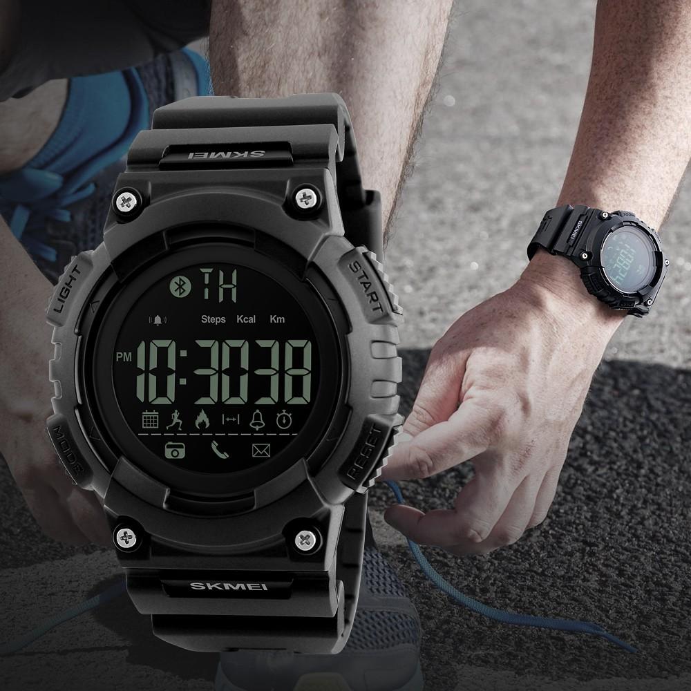 Skmei Official Store 1317 Jam Tangan Elektronik Multifungsi Pria Digital 1274 Black Water Resistant 50m Untuk Shopee Indonesia