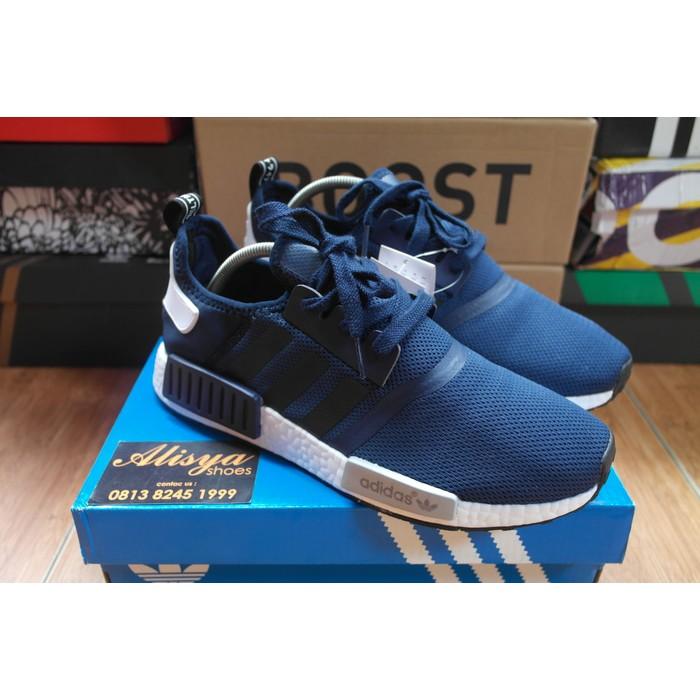 ce7862666 Adidas NMD R1 Primeknit X PACKER Blue Perfect Kick