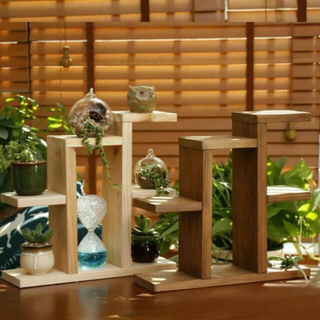 Rak Tanaman Bunga Mini Dekorasi Menarik Shopee Indonesia