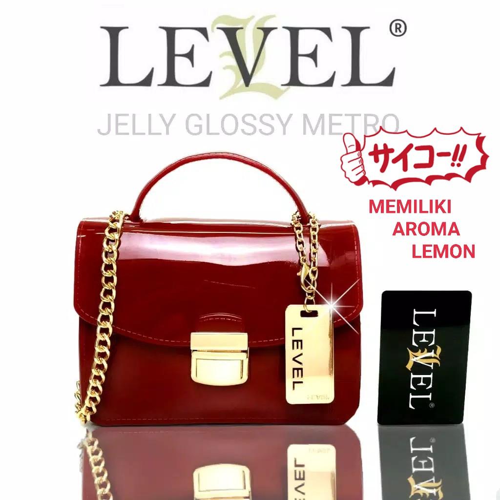 PROMO 2019 Tas LEVEL JELLY METRO glossy mini fashion import batam slingbag  selempang handbag  0df3b8e810