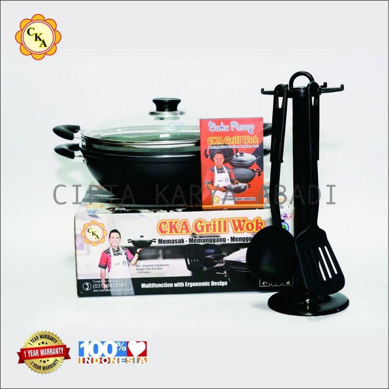Grill wok CKA